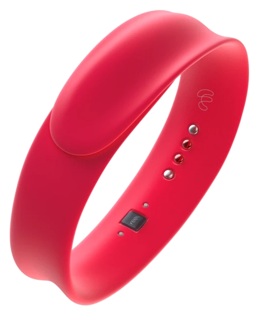 Feel Wristband Red Heart model