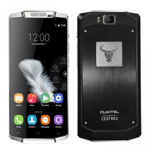 Oukitel K10000 Android smartphone with 10,000 mAh battery