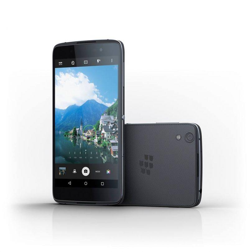 BlackBerrry DTEK50 smartphone