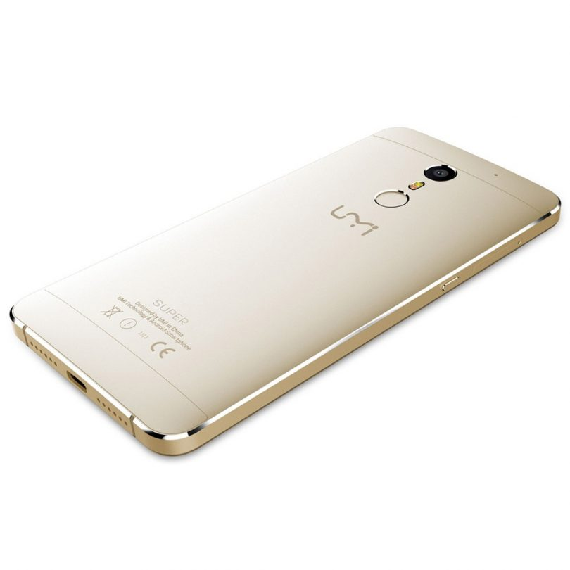 UMI Super smartphone back design
