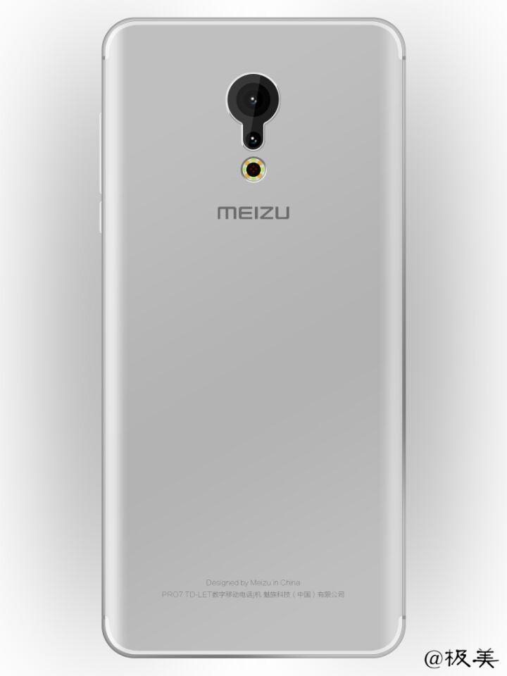 Meizu Pro 7 smartphone back design