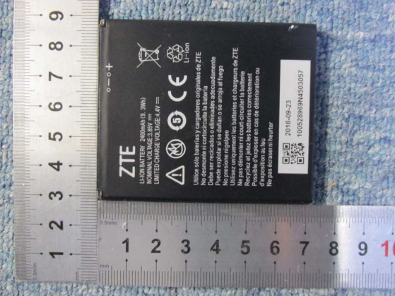 ZTE Blade A520 battery