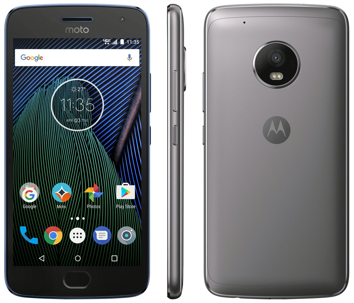 Moto G5 Plus official photo