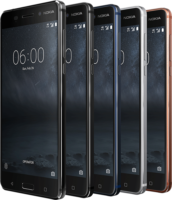 Nokia at MWC 2017: Nokia 6, 5, 3 and a modern Nokia 3310 phone