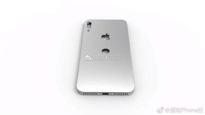 iPhone 8 case leak with dual cameras and rear mounted Touch ID
