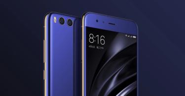 Xiaomi Mi 6 cameras