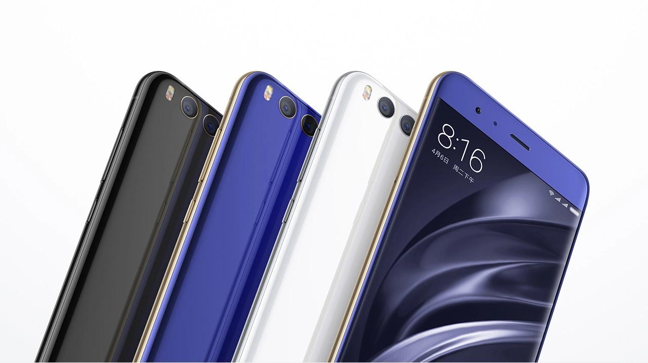 Xiaomi Mi 6 colors