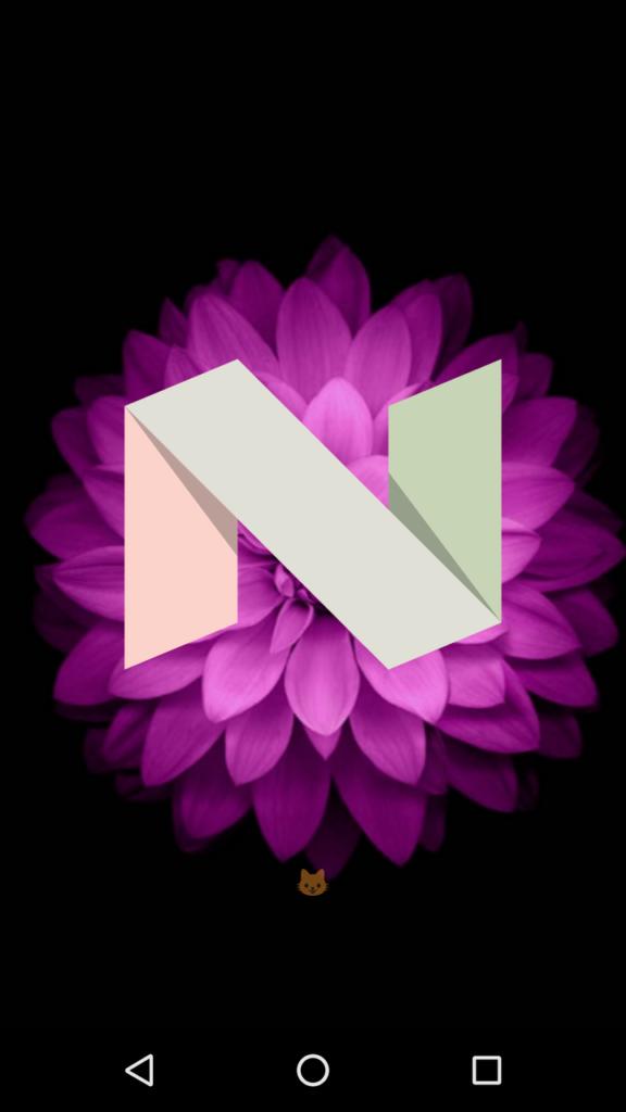 Neko Atsume Nougat game