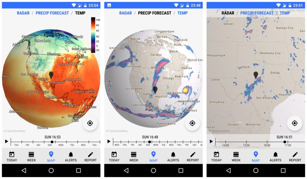 Dark Sky Weather app