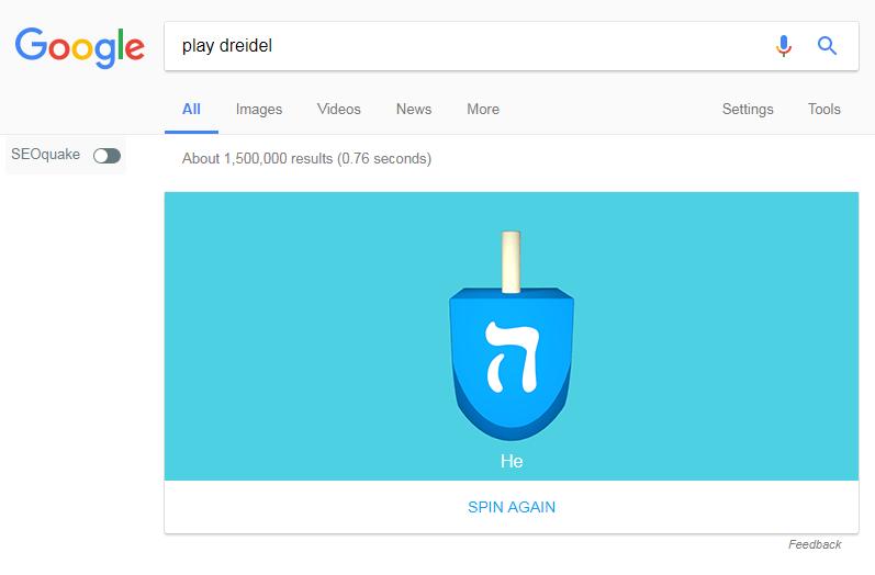 Google Dreidel