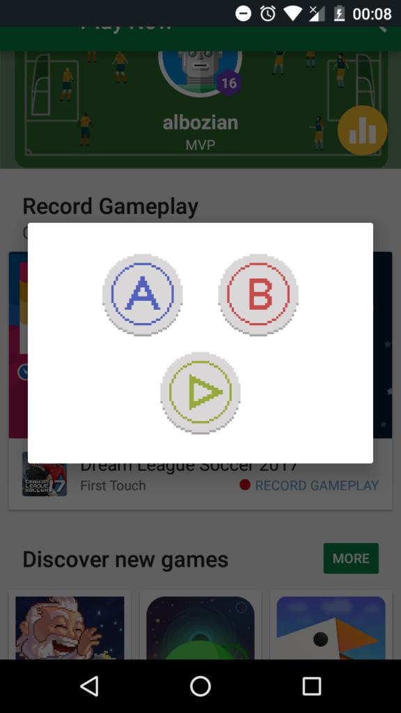 Konami Code Google Play Games