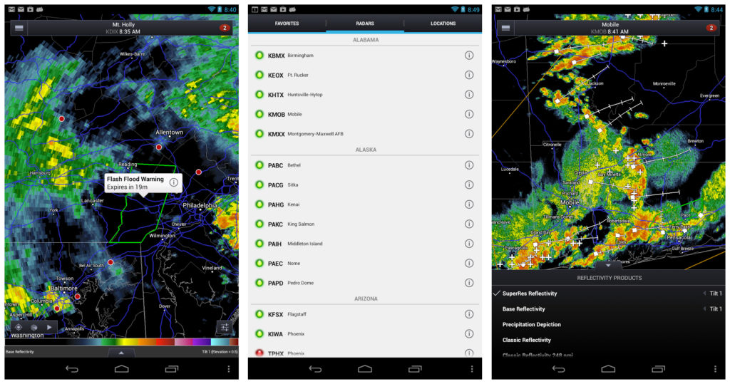 RadarScope Weather App