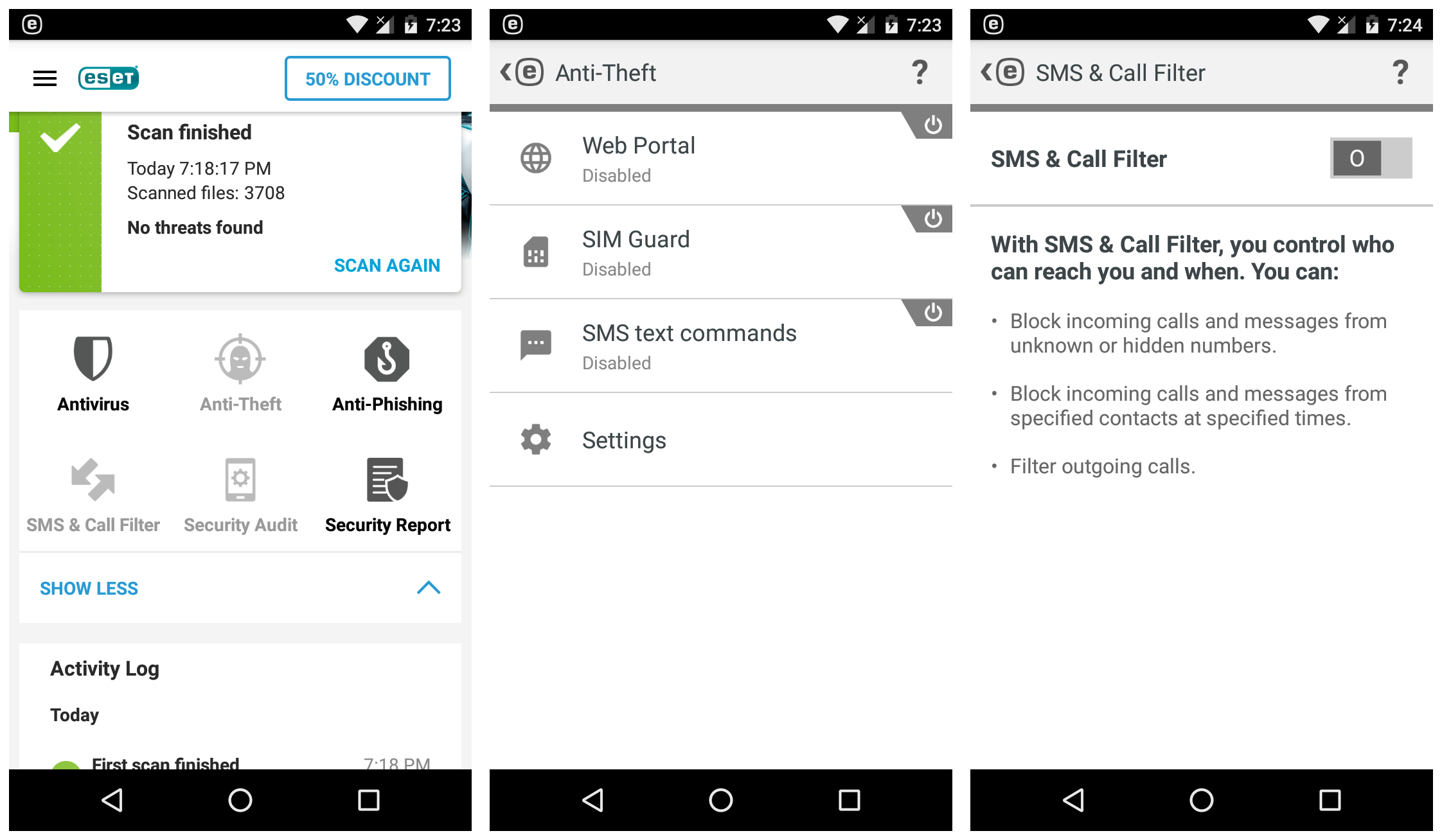 Eset Mobile Antivirus and Security