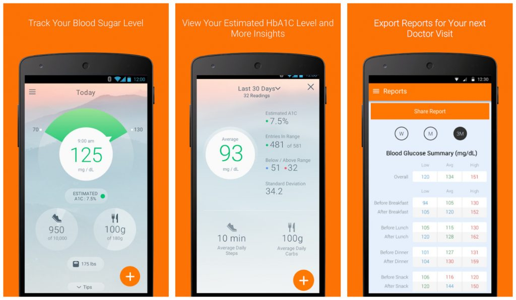 Sugar Sense app for diabetes
