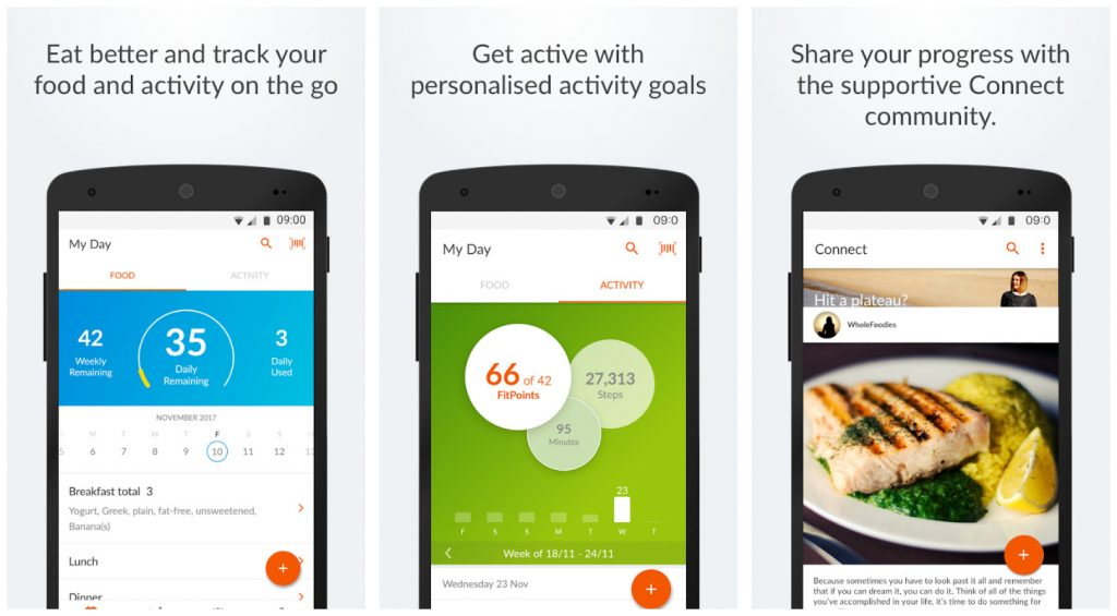 Weight Watchers Mobile health and fitness app