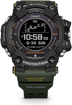 Casio G-Shock GPR P1000 Rangeman rugged smartwatch