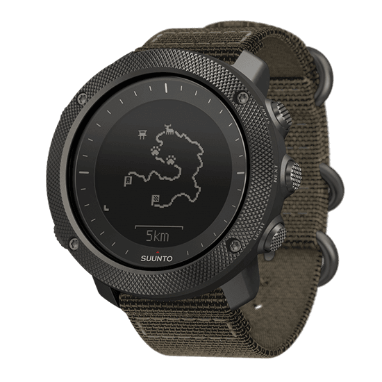 Suunto Traverse Alpha smartwatch for fishing, hunting and outdoor activities