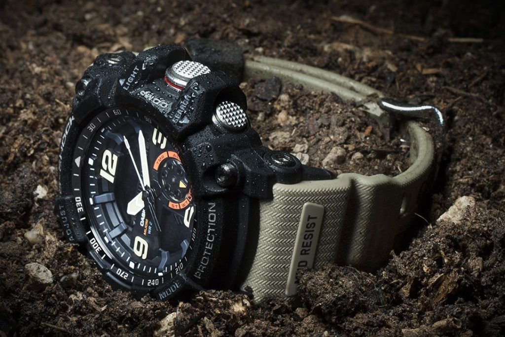 Casio G Shock Rangeman military smartwatch for outdoors and swimming