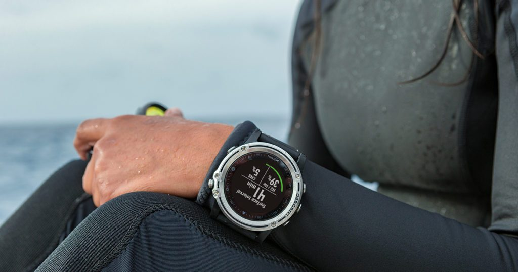 Garmin Descent MK1 dive computer smartwatch for swimming and water sports