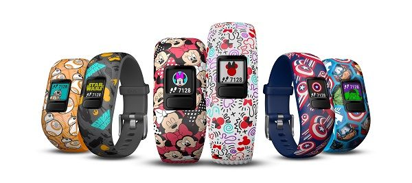 Garmin Vivofit Jr 2 activity tracking wristband for kids