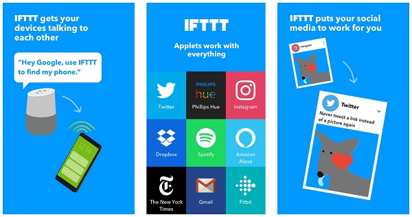 IFTTT android application