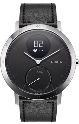 Nokia Steel HR hybrid smartwatch with heart rate monitor
