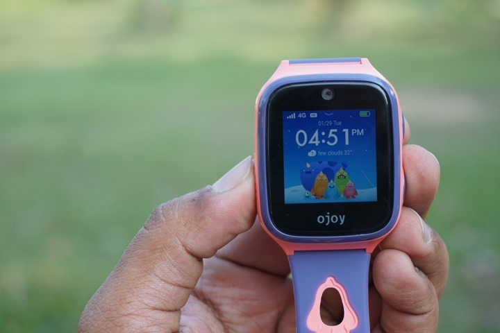 Hands on review with the Ojoy A1, a 4G watch phone for kids with GPS