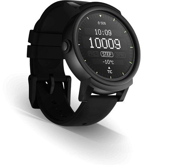 Tickwatch E Cheap Android Wear smartwatch