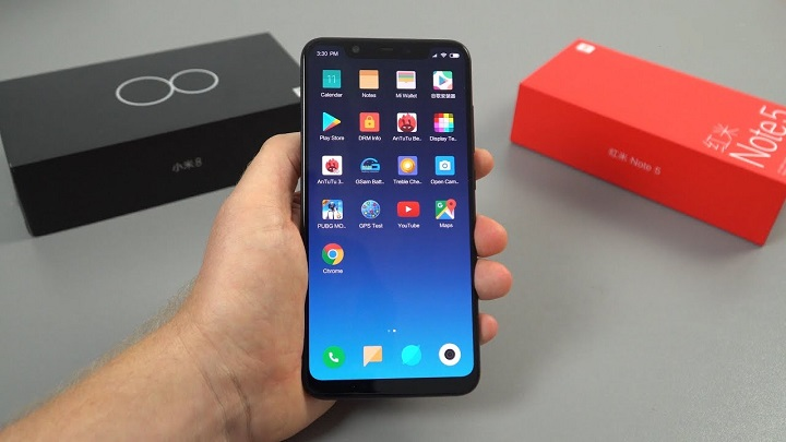 Xiaomi Mi 8 hands on review