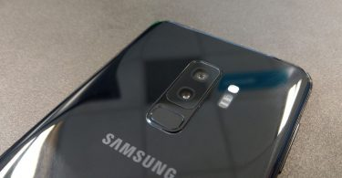 Samsung Galaxy S9 Plus hands on review back design and the camera